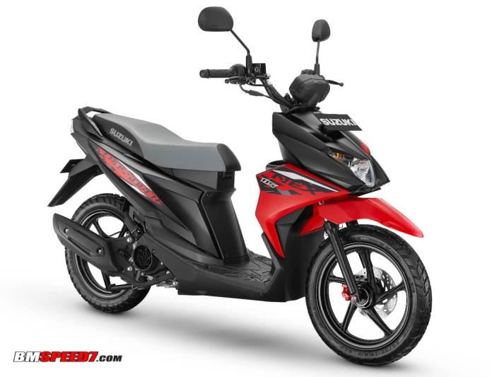 Suzuki Nex II Crossover Stonger Red