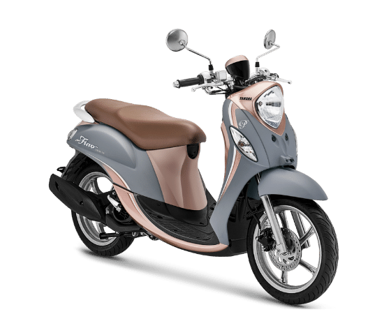 Yamaha Fino 125 2021 Cream