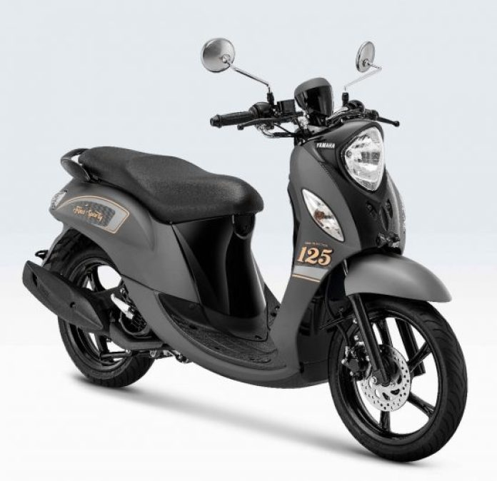 Yamaha Fino Sporty 2021 Grey