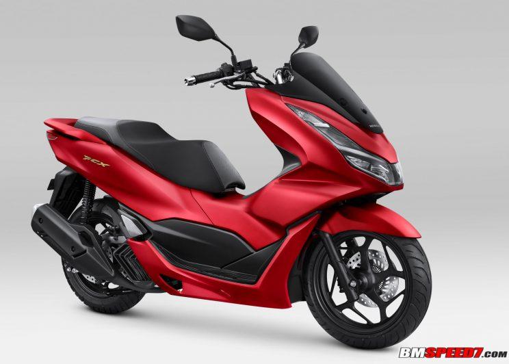 PCX 160 2021 Matte Red