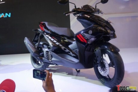 Yamaha Aerox 155 2017 Hitam metalik tipe standart