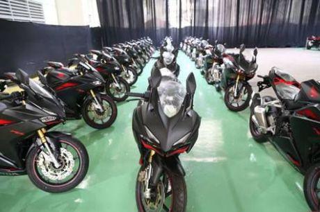 Honda CBR250RR usai diproduksi