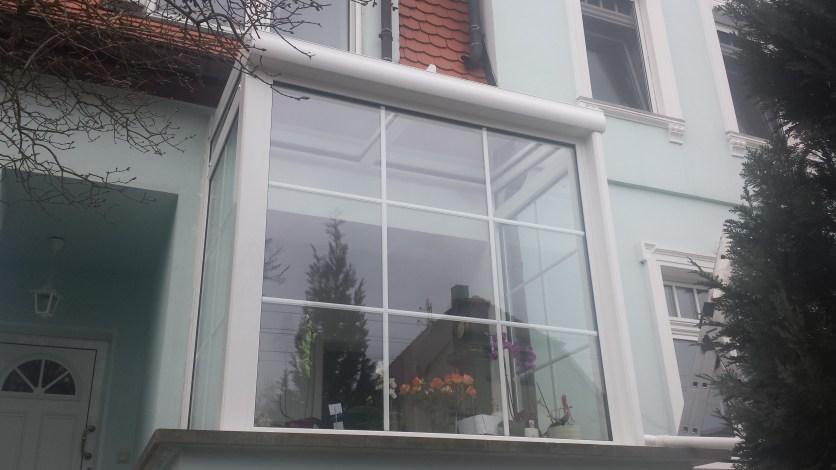 neunteiliges großes Sprossenfenster