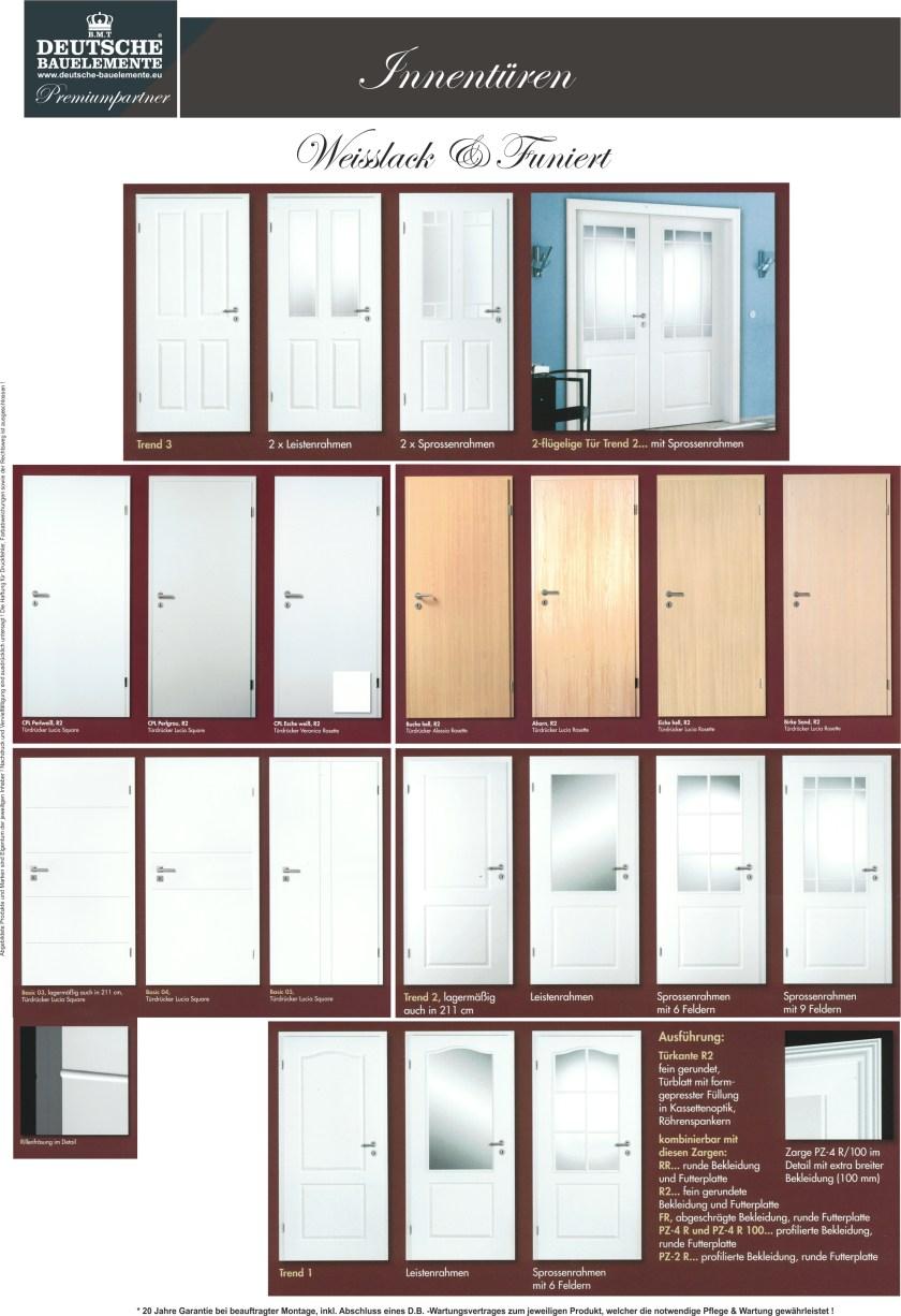 Innentüren galerie aus DB Katalog