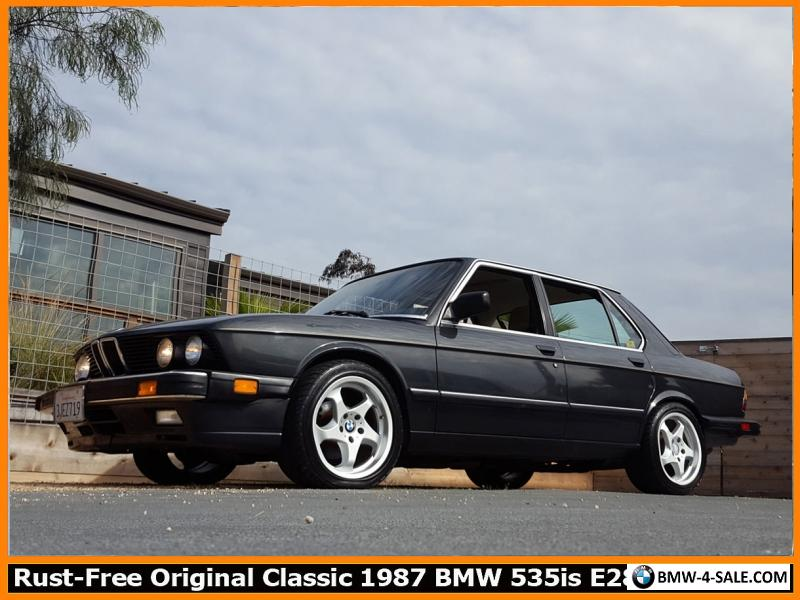1987 BMW 5-Series 535IS for Sale in United States