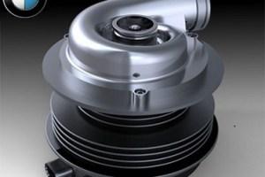Hybrydowa turbosprężarka BMW
