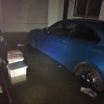 台風19号で自宅が床上浸水になり、危うく車が浸水するところでした。