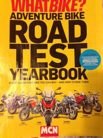Adventure Bike Road Test Yearbook