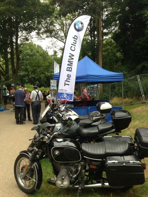 BMW Club Oxford Section at Calne Bike Show