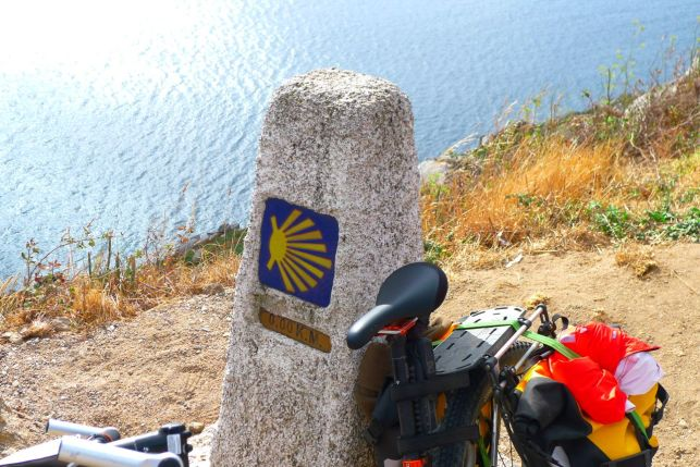 End of the Way of St James Cap Finisterre