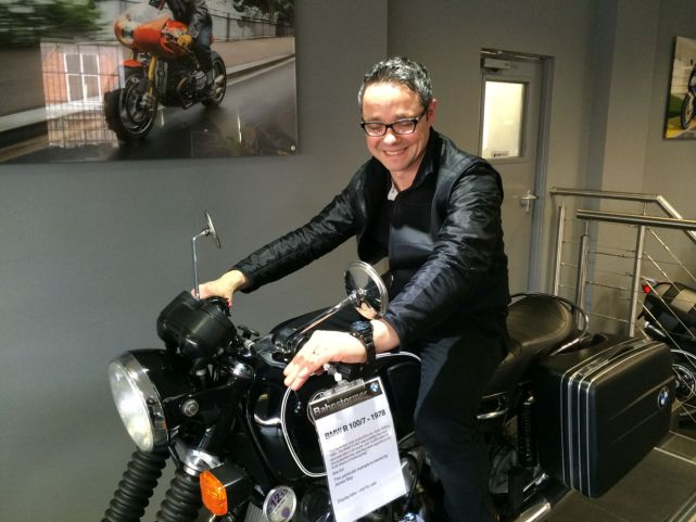 Dean Buck - On James May's R100/7