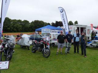 02 BMW Club Oxford Stand Brackley Festival of Motorcycling 20140817