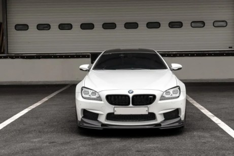 BMW M6 Gran Coupe 3D Design Aero rendering