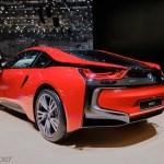 New Limited Edition Bmw I8 Protonic Red Edition W Geneva Auto Show Pics Bmw I Forums