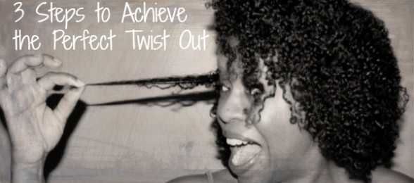 Natural Hair 3 Steps To Achieve The Perfect Twist Out