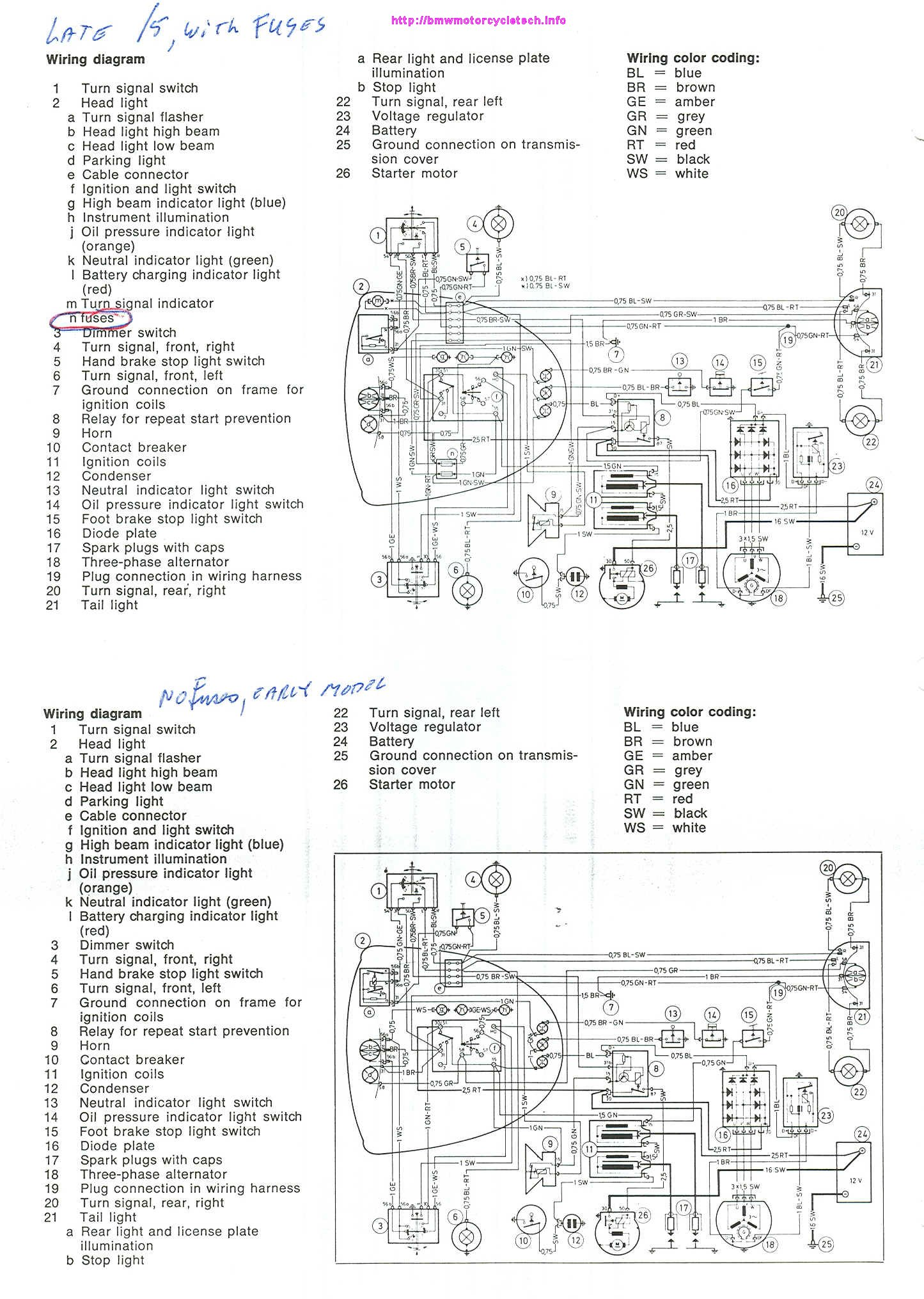 Motorcycle Alarm System Wiring Diagram