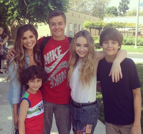 august-maturo-sabrina-carpenter-peyton-meyer-corey-fogelmanis-danielle-fishel-july-30-2014-1