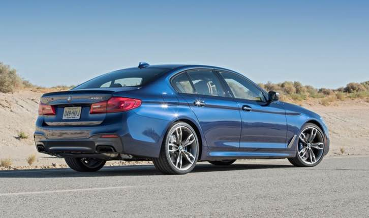 The new bmw 5 series 2022 will reach U.S. dealerships in July 2020