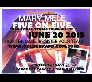 Annual Mary Mele Memorial Basketball Tournament