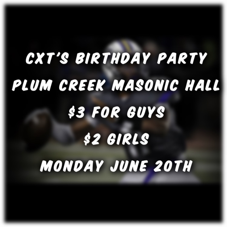 CXT's 16th Birthday party