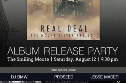 Real Deal Release Party BMW THE DJ Flyer