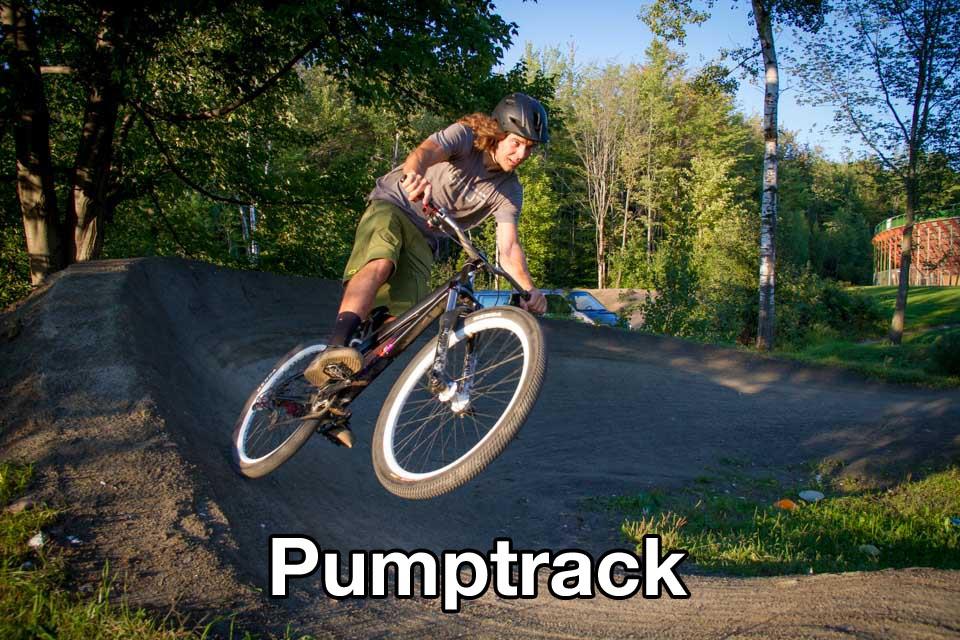 Conception, réalisation et entretien de piste de BMX, de pumptrack, de piste de saut (dirt jump) et de sentier de vélo de montagne.