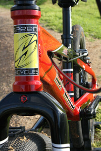 Speed Bicycles head tube