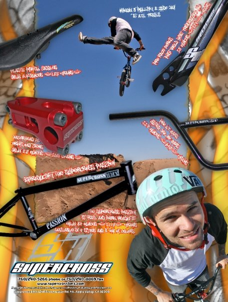 Supercross BMX SLT forks and Fox Yeah! Bars