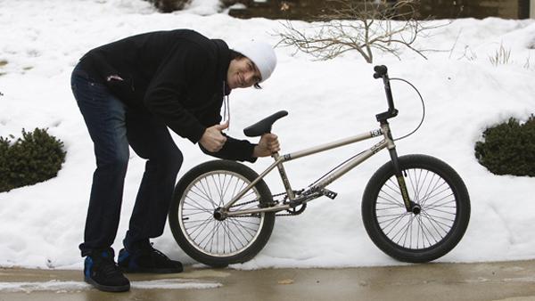 Chris Doyle BMX bike check