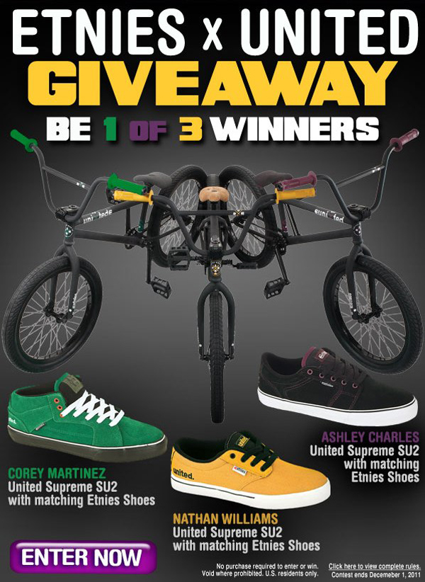 b1daf88c6a Dan s Comp - Etnies X United Bike And Shoe Giveaway