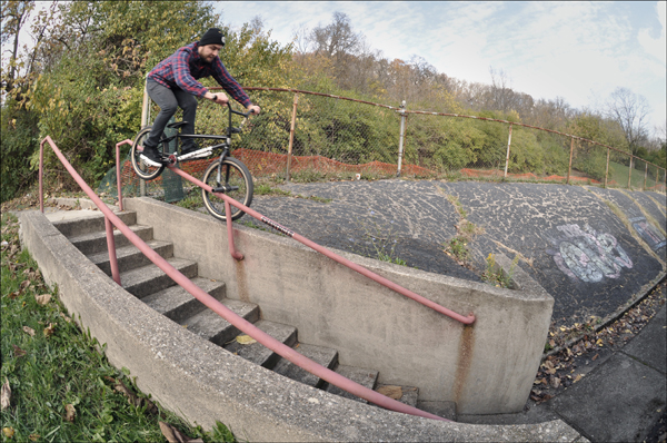 Ryan Howard BMX