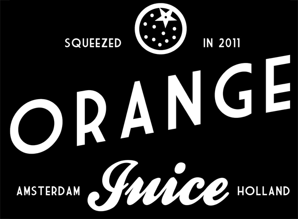 we are orange juice logo