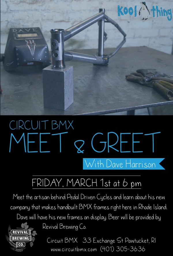 Circuit BMX – Meet & Greet with Dave Harrison