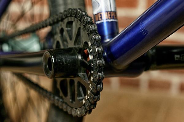 Andrew Jackson BMX bike