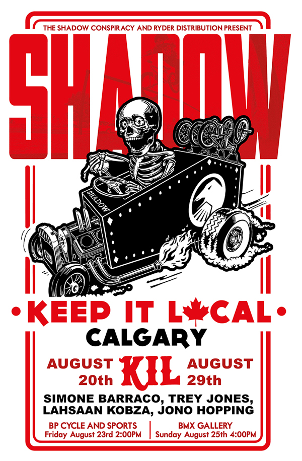 Shadow Conspiracy – Keep It Local Tour: Canada Flyer