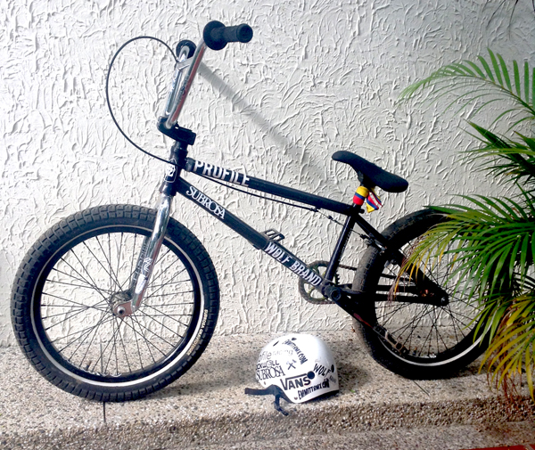 Mark Mulville BMX bike check