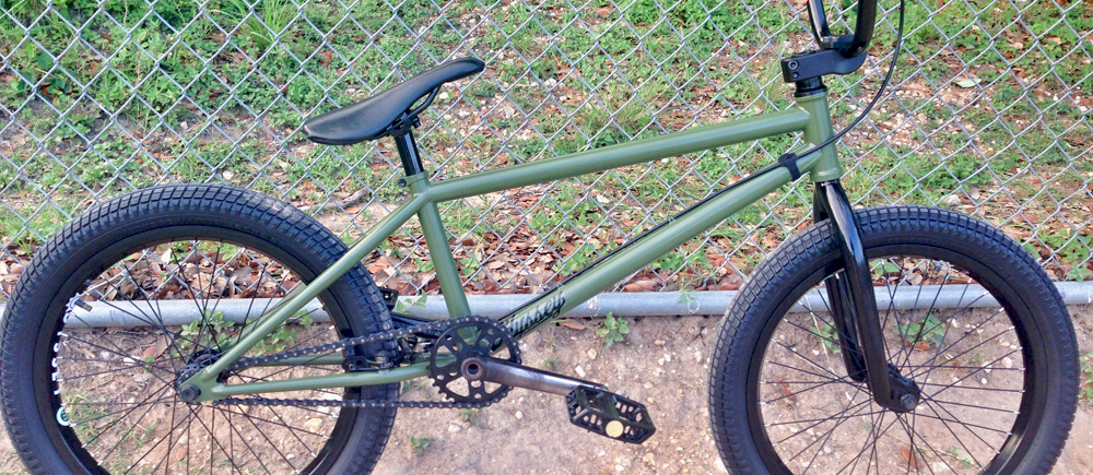 Will Blount Bike Check
