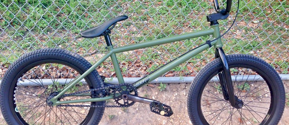 Will Blount Bike Check