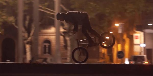 Stranger BMX video