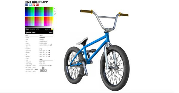 The BMX Color App