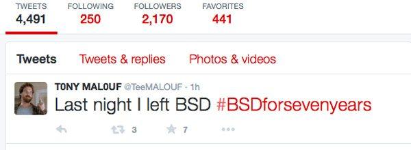 Tony Malouf Off BSD