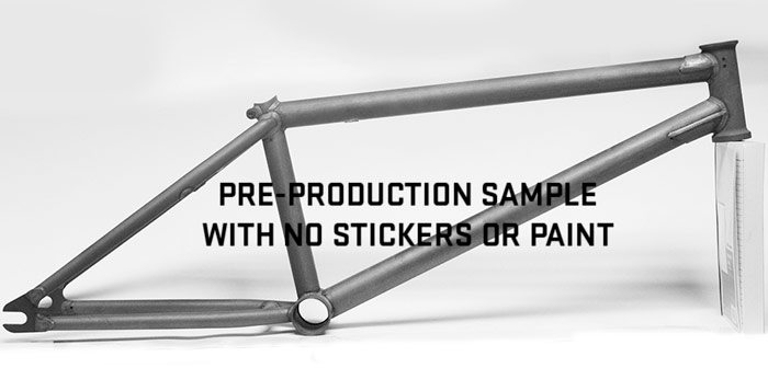 Proper Bike Co. Tecmatik  BMX Frame