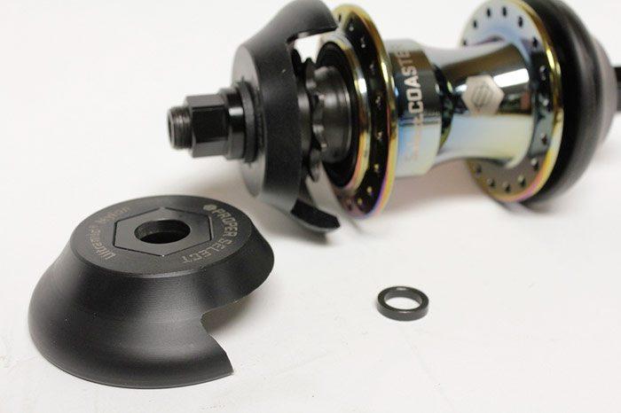 Product Proper Bike Co Select Universal Drive Side Hub Guard