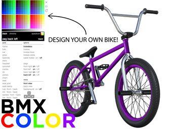 BMX Color App BMX Bike Game