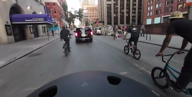 Nigel Sylvester – BMX Summer In New York City – 360 Video Experience