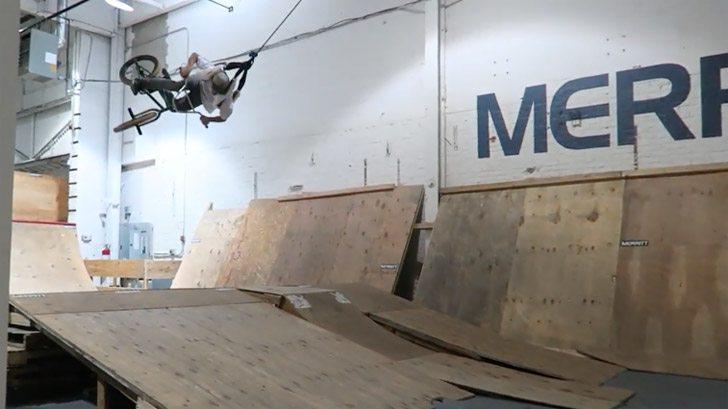 Billy Perry – BMX Bike VS Swing