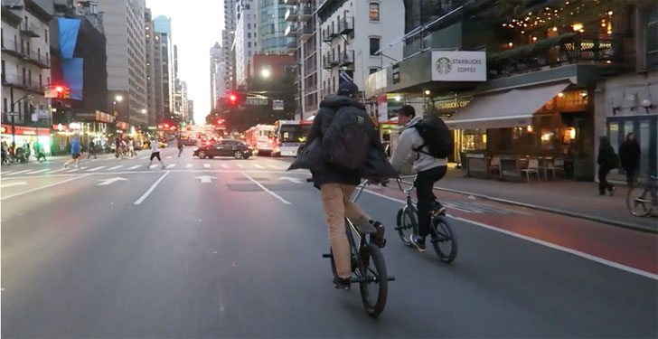 Follow The Leader – BMX In NYC 2