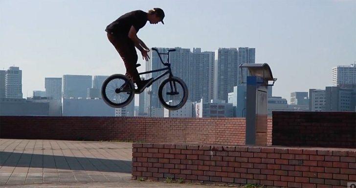 Urban Noise – BMX Street Riding In Tokyo