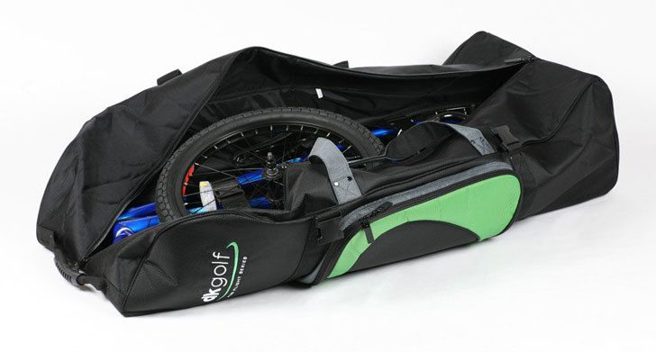 dk-golf-bag-black-green-bmx-travel-bag-open