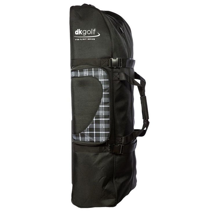 dk-golf-bag-black-plaid-bmx-travel-bag-closed-tall